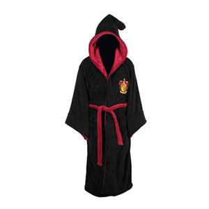 Harry Potter Gryffindor Hooded Bathrobe