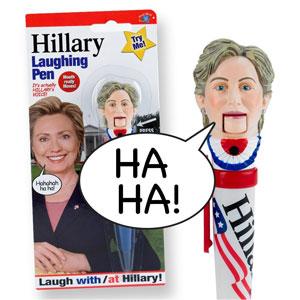 Hillary Clinton Laughing Pen
