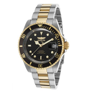 Invicta Mens Pro Diver 18k Watch