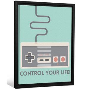 JP London Framed Retro Nintendo Video Game Controller