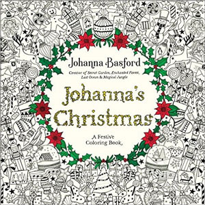 Johanna's Christmas: Festive Adult Coloring Book