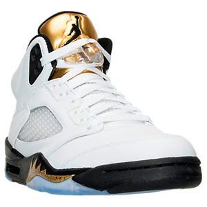 Jordan Retro 5 Metallic Gold Coin