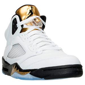 Jordan Retro 5 Metallic Gold Coin