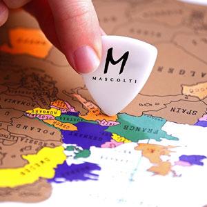 Mascolti Scratch Off Map