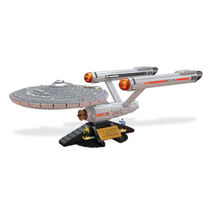 Mega Bloks Star Trek U.S.S. Enterprise NCC-1701 Collector Construction Set