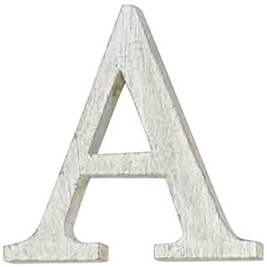 Mud Pie Wood Block Initial-A
