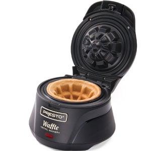 Presto Belgian Bowl Waffle Maker