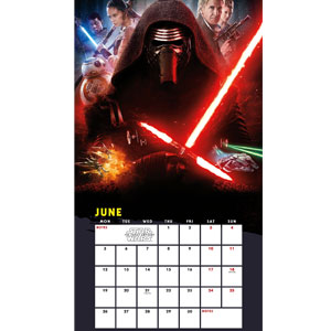 Star Wars 2017 Wall Calendar