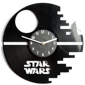 Star Wars Vinyl Wall Clock Cutout
