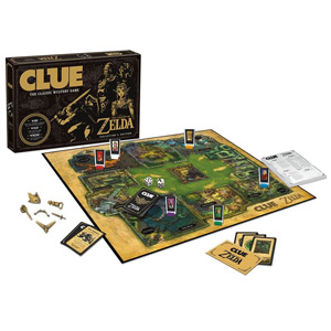 USAopoly the Legend of Zelda Clue Board Game
