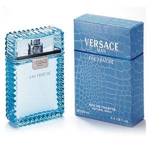 Versace Man Eau Fraiche By Gianni Versace Edt Spray, 3.4 Fl. Oz.
