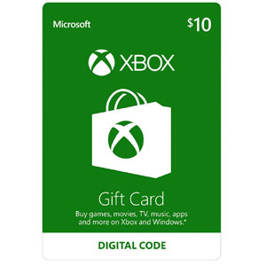 Xbox One Gift Card