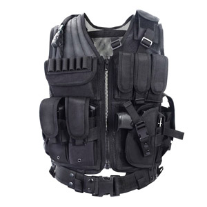 YAKEDA Tactical CS Field Vest Outdoor Ultra-light Breathable Combat Training Vest
