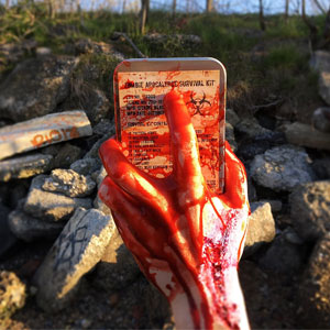 Zombie Apocalypse Survival Kit by Citadel Black