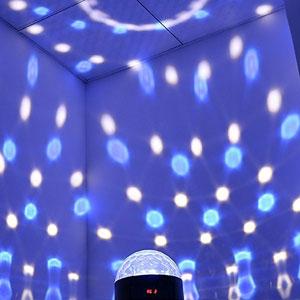 1byone Disco Light Bluetooth Speaker
