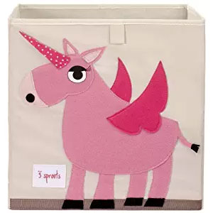 3 Sprouts Storage Box, Unicorn