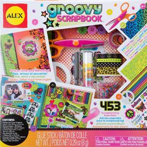 ALEX Toys Craft Groovy Scrapbook