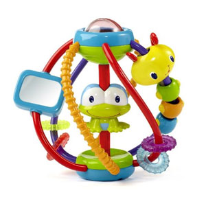 Bright Starts Clack and Slide Activity Ball