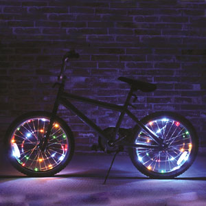 Brightz, Ltd. Wheel Brightz LED Bicycle Accessory Light