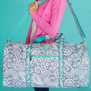 Custom Overnight Duffel Bag