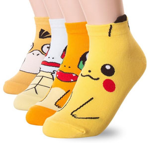 Danis Choice Pokemon Print Crew Socks
