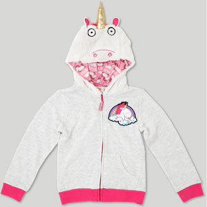 Despicable Me Fluffy The Unicorn Costume Hoodie