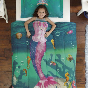 Dream Big Sea Princess Comforter Set