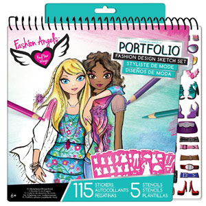 Fashion Angels Fashion Design Sketch Portfolio Artist Set