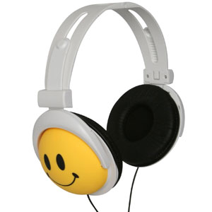 Happy Canz Smily Face Headphones