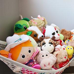 MiniOwls Storage Hammock Toy Organizer