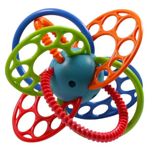 Oball Flexi Loops Teething Toy