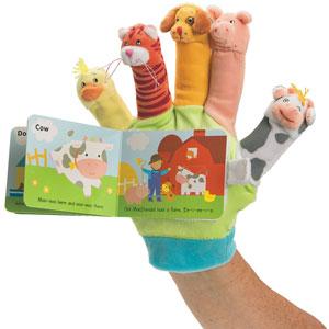 Old Macdonald: A Hand-Puppet Board Book