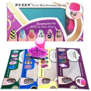 PUEEN Nail Art Stamping Kit