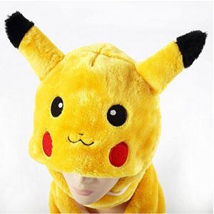 Pikachu Beanie Gloves Scarf 3 In 1 Set
