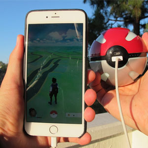 Pokemon GO Pokeball Portable Cell Phone