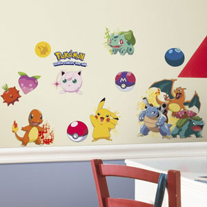 RoomMates Pokemon Wall Decals