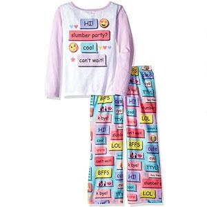The Children's Place Emoji Pajama Set