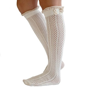 The Original Button Boot Socks