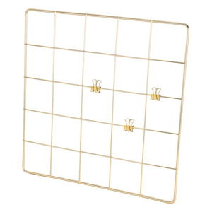 Threshold Gold Wall Grid