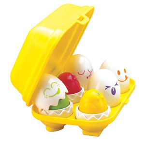 Tomy Hide N Squeak Eggs Learning Toy