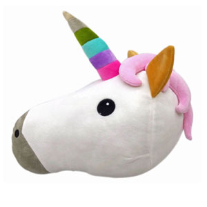 Unicorn Emoji Pillow