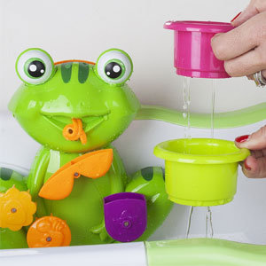Zig Zag Kid Frog Baby Bath Toy