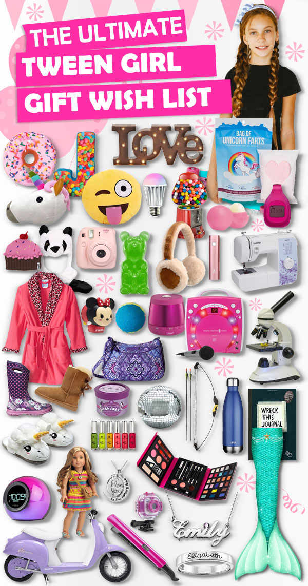 Gifts for Tween Girls