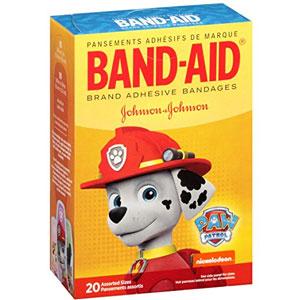 Band-Aid Character Adhesive Bandages