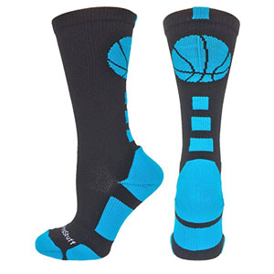 Basketball Logo Crew Socks