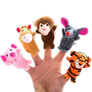 Better line Finger Puppets Set