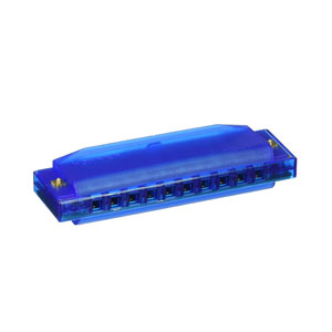 Clearly Colorful Translucent Harmonica