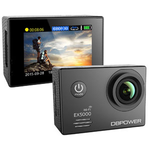DBPOWER 1080P Wifi Action Camera