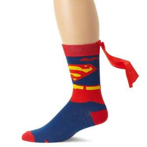 DC Comics Superman Sock With Cape