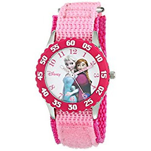 Disney Kids Anna and Elsa Time Teacher Watch